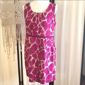 Ann Taylor Loft Animal Print Dress